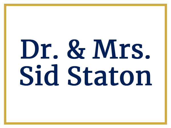 Sponsors Mr. and Mrs. Sid Staton
