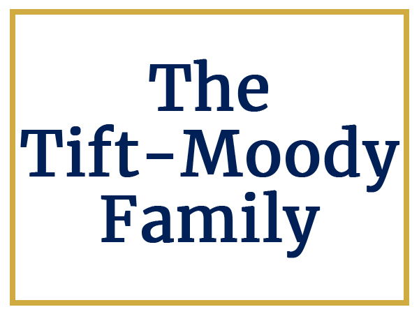 Sponsors The Tift Moody Family