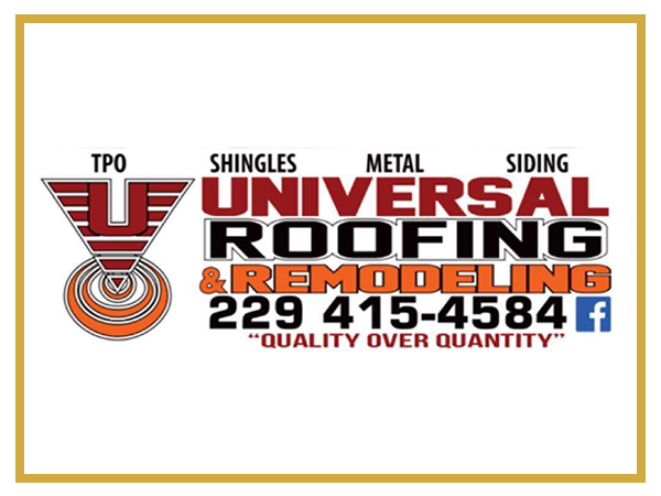 Sponsors Universal Roofing and Remodeling